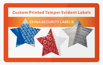 China Tamper Evident Security Labels