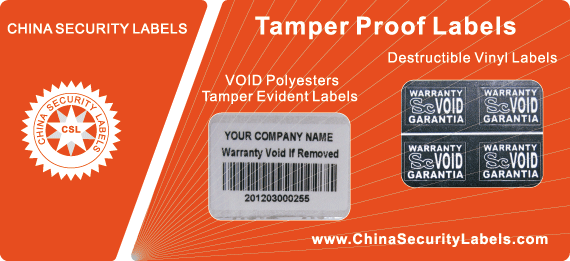 Tamper Proof Labels